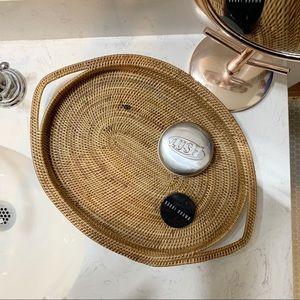 Other - Handmade low profile decorative basket